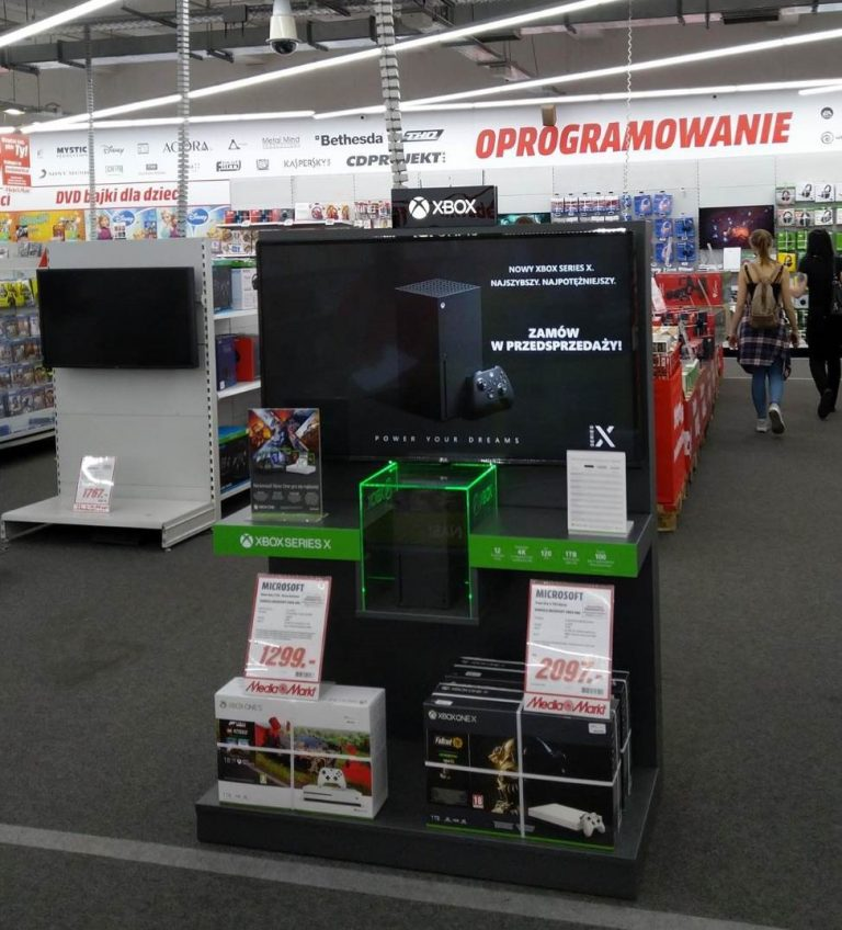 Xbox Series X trafił do polskich sklepów