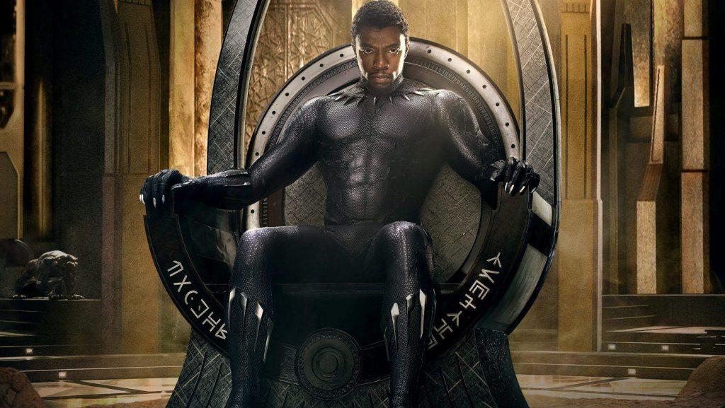 Czarna Pantera Chadwick Boseman