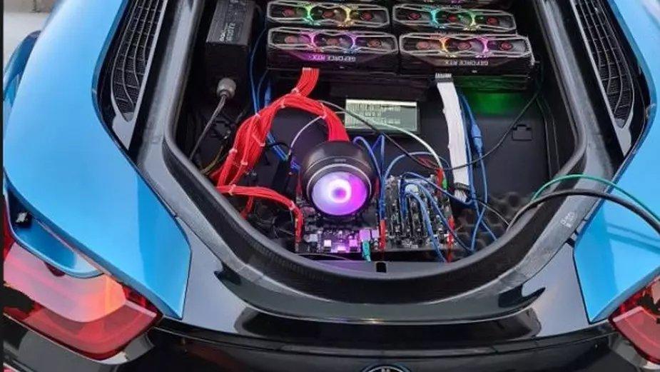 RTX 3080 BMW i8