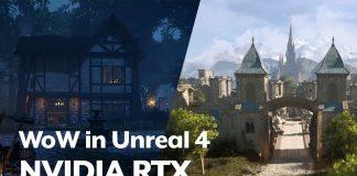 World of Warcraft Unreal Engine 4