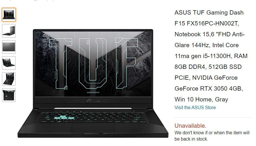 GeForce RTX 3050