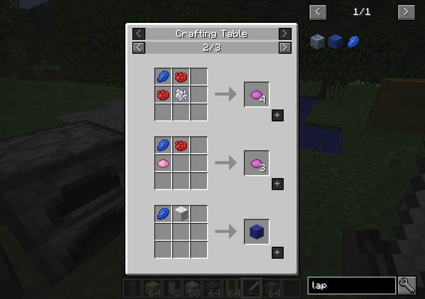 Minecraft Mod Just Enough Items (JEI)