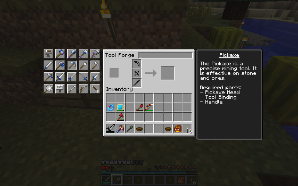 Minecraft Mod Tinker's Construct