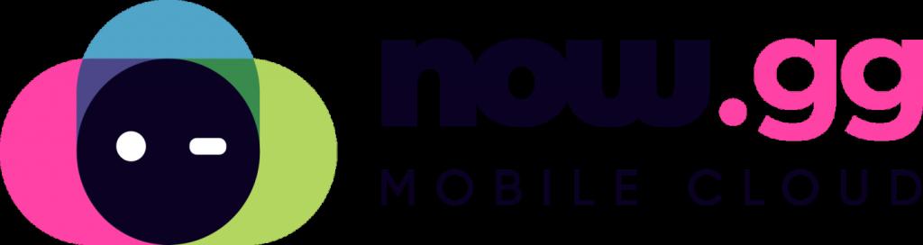 Now.gg Mobile Cloud logo chmura mobilna