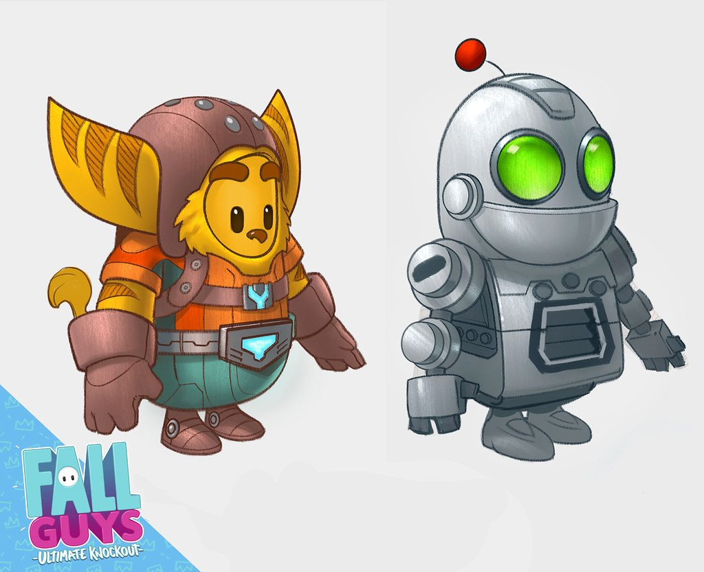 Fall Guys Ratchet and clank 2