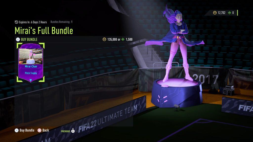 FIFA 22 anime skiny